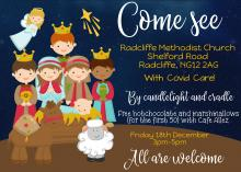 By candlelight and cradle event